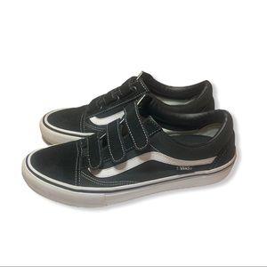 Vans Old Skool™ V Skate Pro Black Sneakers 10.5